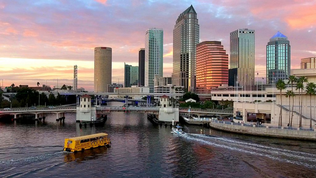 Downtown Tampa Pirate Water Taxi
