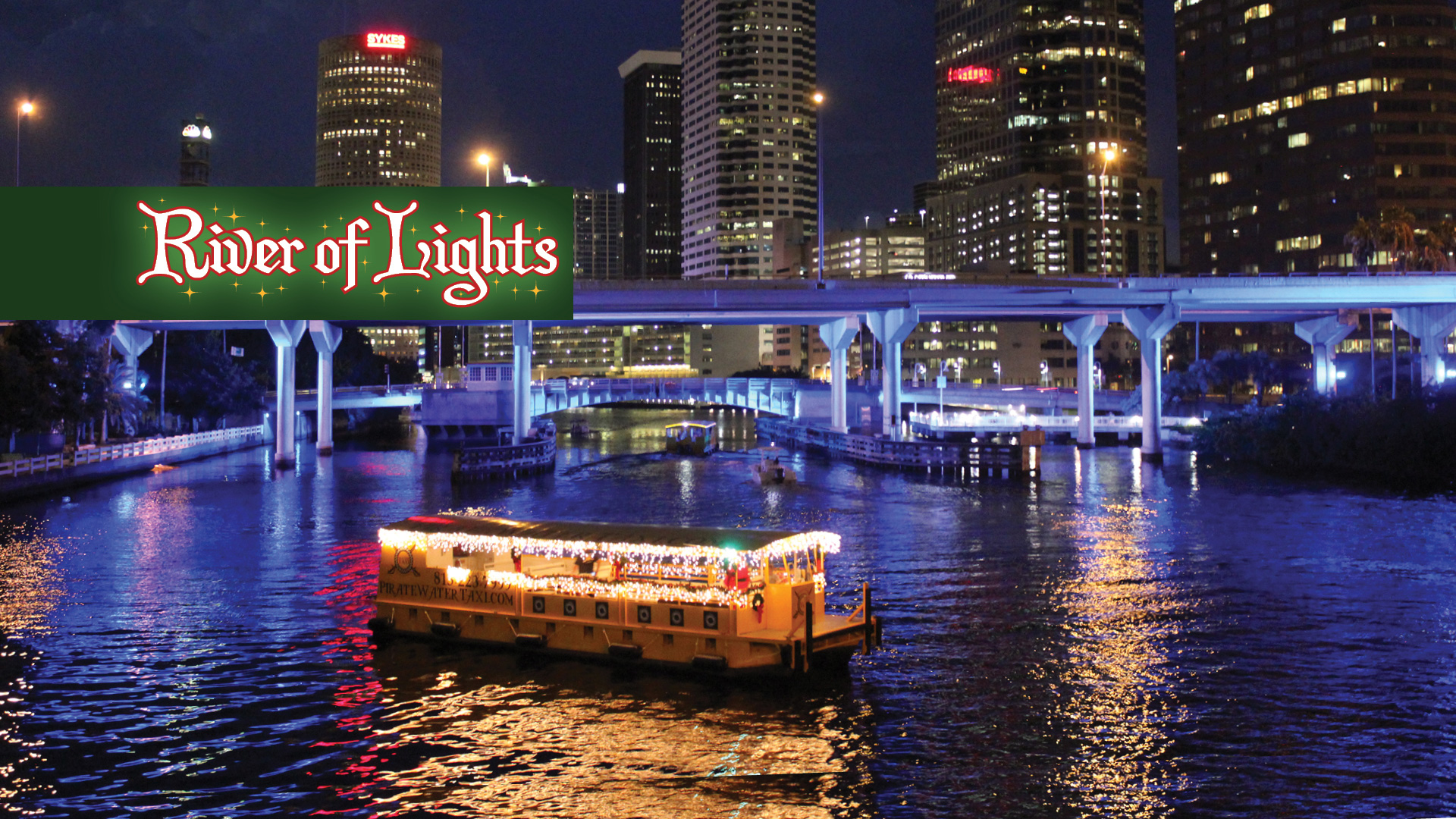 Holiday River of Lights