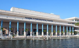 Tampa Convention Center from the water