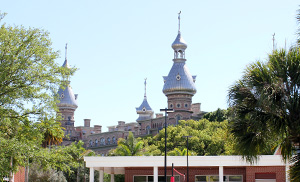 University of Tampa from the water