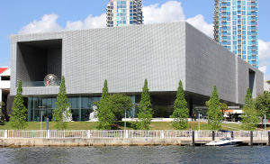 Tampa Museum of Art from the water