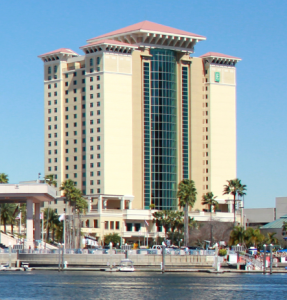 Embassy Suites Hotel from the water