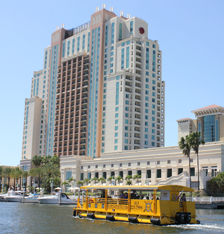 Marriott Hotel from the water