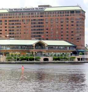Westin Hotel from the water