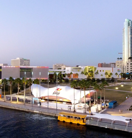 Pirate Water Taxi at Curtis Hixon Park