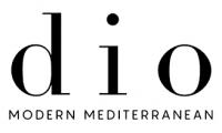 Dio Modern Mediterranean Logo