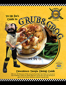 Pirate Water Taxi Dining Guide Cover