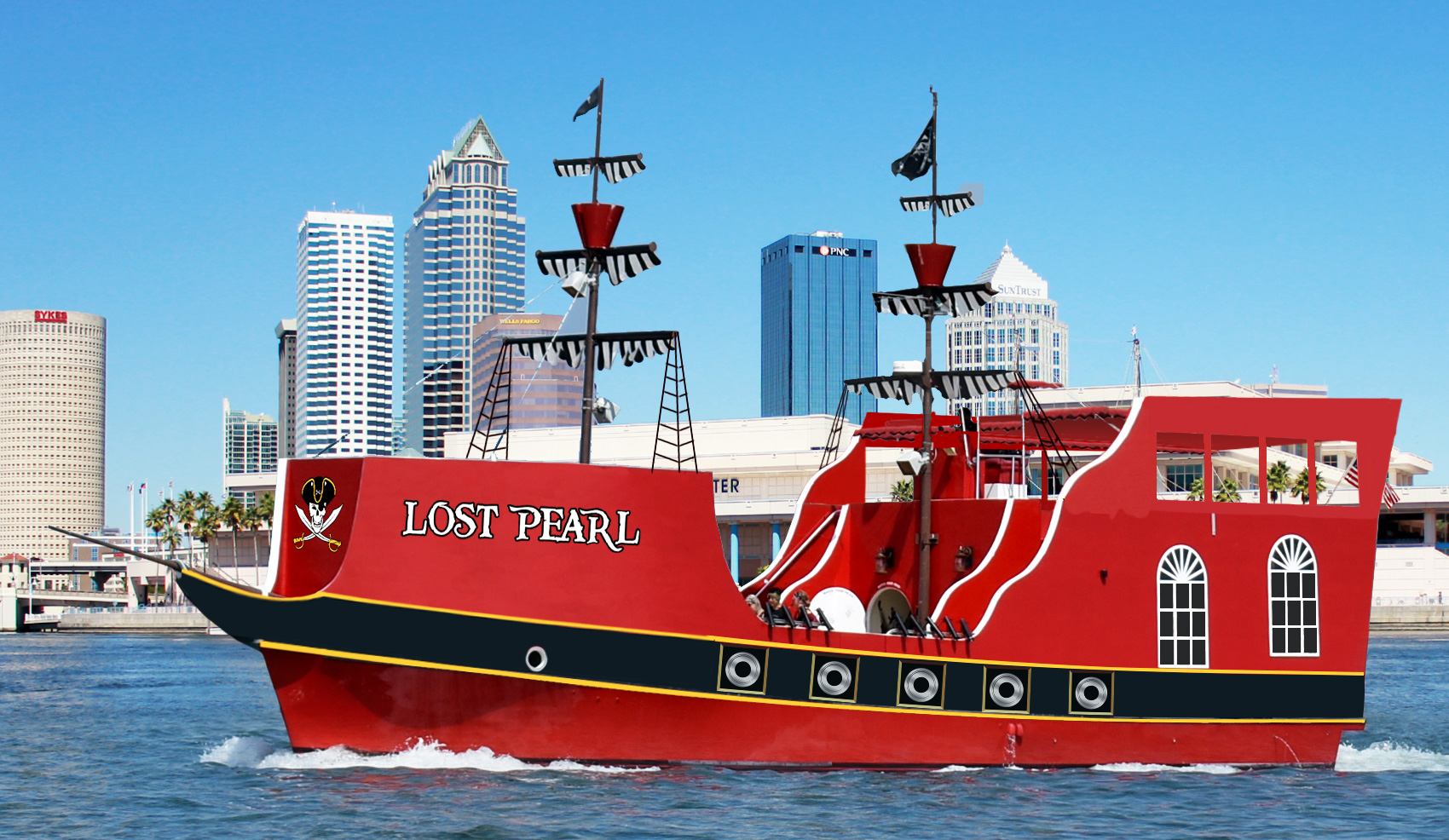 Lost Pearl Pirate Ship
